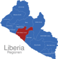 Map Liberia Regionen Grand_Bassa_County