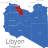 Map Libyen Regionen Misrata