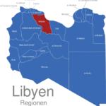 Map Libyen Regionen Misrata