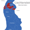 Map Liechtenstein Gemeinden Eschen