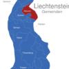 Map Liechtenstein Gemeinden Mauren