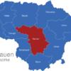 Map Litauen Bezirke Kaunas