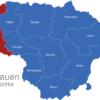 Map Litauen Bezirke Klaipeda_1_