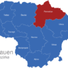 Map Litauen Bezirke Panevezys_1_