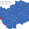 Map Ludwigslust Parchim Boizenburg-Land