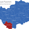 Map Ludwigslust Parchim Domitz-Malliss