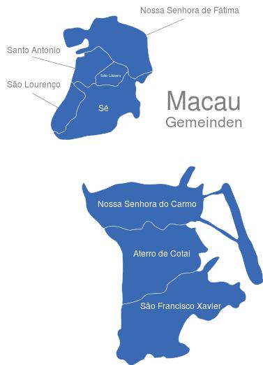 Macau Gemeinden