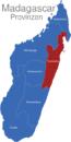 Map Madagaskar Provinzen Toamasina