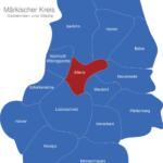 Map Märkischer Kreis Altena