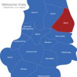 Map Märkischer Kreis Balve