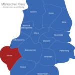 Map Märkischer Kreis Halver