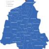 Map Magdeburg Stadtteile Barleber_See