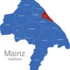 Map Mainz Stadtteile Altstadt