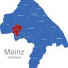 Map Mainz Stadtteile Drais