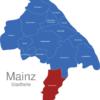 Map Mainz Stadtteile Ebersheim
