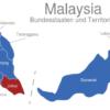 Map Malaysia Bundesstaaten Und Territorien Johor