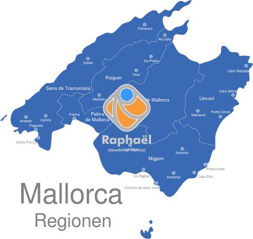 Mallorca Karte Städte interaktive Landkarte | Image-maps.de