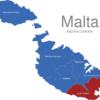 Map Malta Bezirke South_Eastern