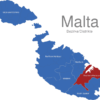 Map Malta Bezirke Southern_Harbour