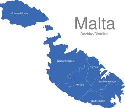 Malta Bezirke