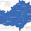 Map Mansfeld Südharz Berga