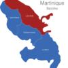 Map Martinique Bezirke La_Trinite_1_