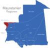 Map Mauretanien Regionen Dakhlet_Nouadhibou