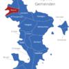 Map Mayotte Gemeinden Acoua