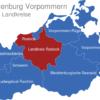 Map Mecklenburg Vorpommern Landkreise Landkreis_Rostock_1_