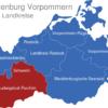 Map Mecklenburg Vorpommern Landkreise Ludwigslust_Parchim_1_