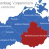 Map Mecklenburg Vorpommern Landkreise Mecklenburgische_Seenplatte