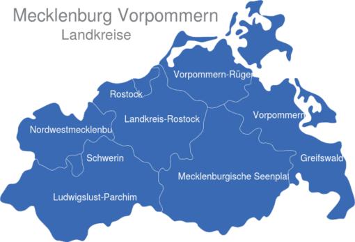 Mecklenburg Vorpommern Landkreise