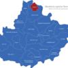 Map Mecklenburgische Seenplatte Demmin