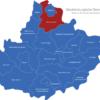 Map Mecklenburgische Seenplatte Demmin-Land