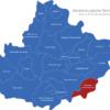 Map Mecklenburgische Seenplatte Feldberger_Seenlandschaft