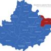 Map Mecklenburgische Seenplatte Friedland