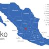 Map Mexiko Bundesstaaten Aguascalientes_1_