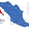 Map Mexiko Bundesstaaten Baja_California_Sur