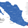Map Mexiko Bundesstaaten Chiapas
