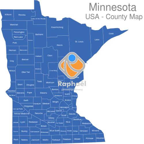 Minnesota Countys