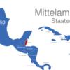 Map Mittelamerika Länder Belize