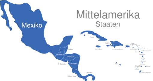 Mittelamerika Länder
