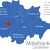 Map Mittelfranken Landkreise Amsbach_Stadt_1_