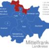 Map Mittelfranken Landkreise Erlangen-Hoechstadt_1_