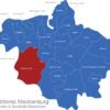 Map Mittleres Mecklenburg Butzow-Land
