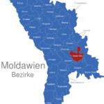 Map Moldawien Bezirke Anenii_Noi