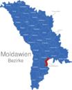 Map Moldawien Bezirke Basarabeasca