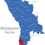 Map Moldawien Bezirke Cahul