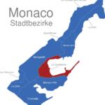 Map Monaco Stadtbezirke La_Condamine
