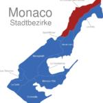 Map Monaco Stadtbezirke La_Rousse_1_